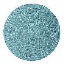 Defined Outdoor Rug - 140cm - Turquoise