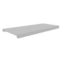 Frame shelving system shelf - White