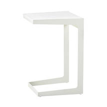 Time Out Side Table - White