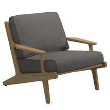 Bay Lounge Chair - Buffed Teak