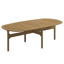 Bay Coffee Table - Buffed Teak Top