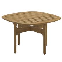 Bay Side Table - Buffed Teak Top