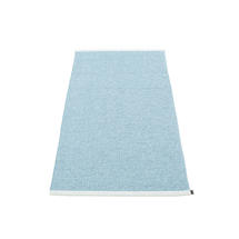 Mono 85 x 160cm Rug - Misty Blue / Ice Blue