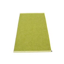 Mono 85 x 160cm Rug - Olive / Lime