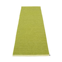 Mono 85 x 260cm Rug - Olive / Lime