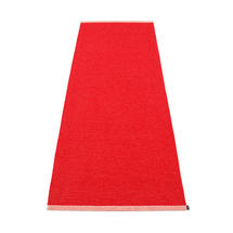 Mono 85 x 260cm Rug - Red / Coral Red