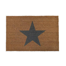 Large Star Coir Doormat