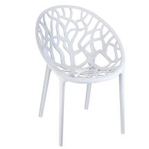Leaf Stacking Chair - Glossy White