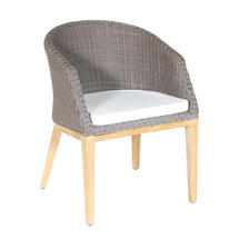 Grace Dining Armchair - Platinum