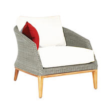 Grace Lounge Chair - Platinum