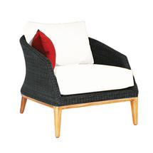 Grace Lounge Chair - Ebony