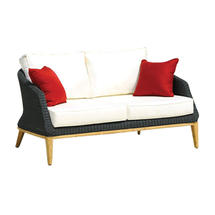 Grace 2 Seater Sofa - Ebony