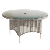 Valencia 150cm Round Table - Platinum