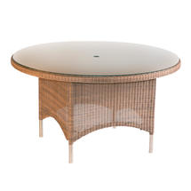 Valencia 150cm Round Table - Sand