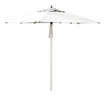 Halo 2 x 2m Square Parasol - Natural