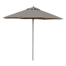 Halo 2 x 2m Square Parasol - Taupe