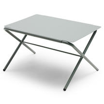 Bow Low Table - Silver White