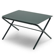 Bow Low Table - Hunter Green