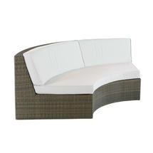 Valencia Curved Sofa - Sand