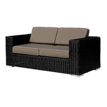 Cuba 2 Seater Sofa - Ebony