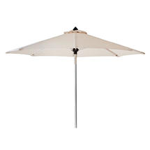 Hamilton 3m Parasol with Tilt - White