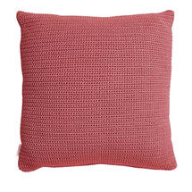 Divine Square Scatter Cushion - Marsala