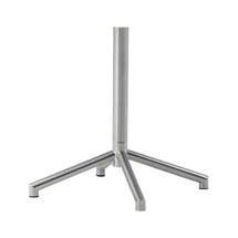 Avenue Round Table Base - Stainless Steel