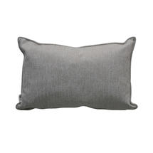 Scatter Cushion 32x52cm - White/Grey