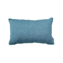 Harlequin Rectangular Scatter Cushion - Turquoise