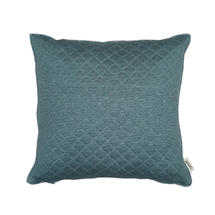 Harlequin Square Scatter Cushion - Turquoise