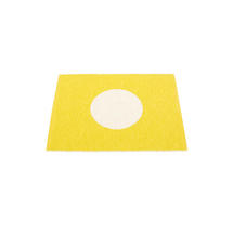90 x 70cm Rug - Lemon / Vanilla