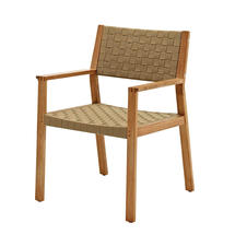 Maze Dining Chair with Arms - Malt Strap