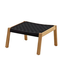 Maze Footstool - Noir Strap