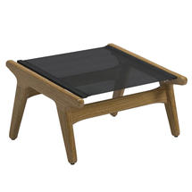 Bay Footstool Teak - Anthracite Sling
