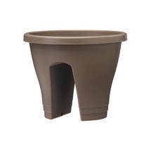 Urban Balcony Planter - Taupe