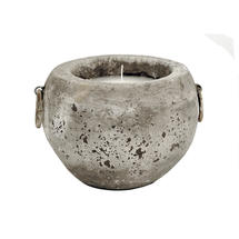 Outdoor Rustic Stone Candle