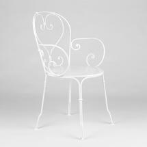1900 Armchair - Cotton White