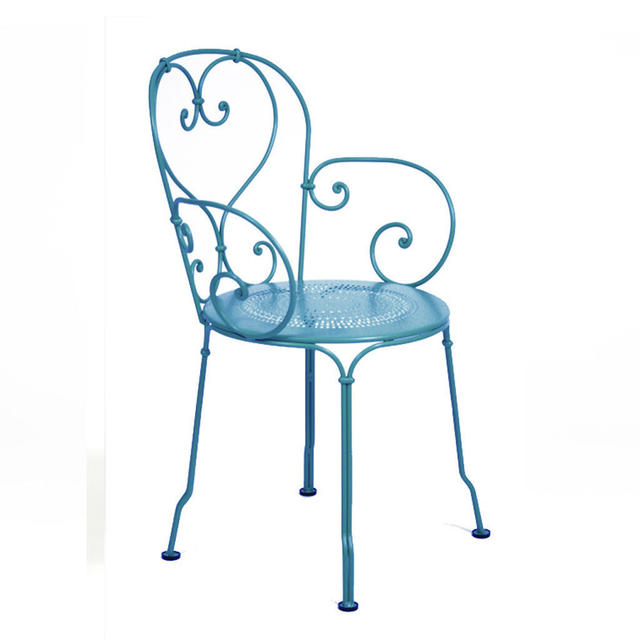 Fermob 1900 chairs by fermob outdoor furniture the worm - Fauteuil turquoise contemporain ...