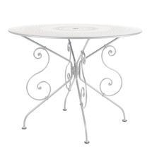 1900 Table 96cm - Cotton White