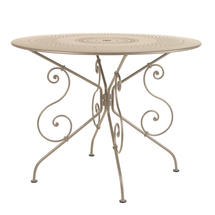 1900 Table 96cm - Nutmeg