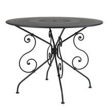 1900 Table 96cm - Liquorice