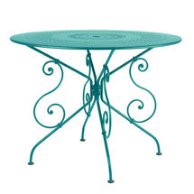 1900 Table 96cm - Turquoise