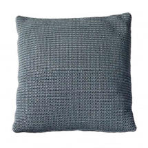 Divine scatter cushion, 50x50x12 cm - Grey