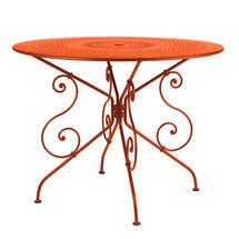 1900 Table 96cm - Paprika