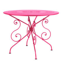 1900 Table 96cm - Fuchsia