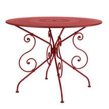 1900 Table 96cm - Chilli