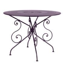 1900 Table 96cm - Plum