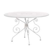 1900 Table 117cm - Cotton White