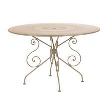 1900 Table 117cm - Nutmeg