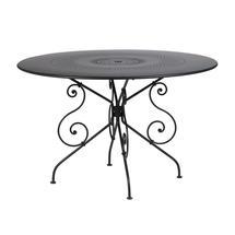 1900 Table 117cm - Liquorice